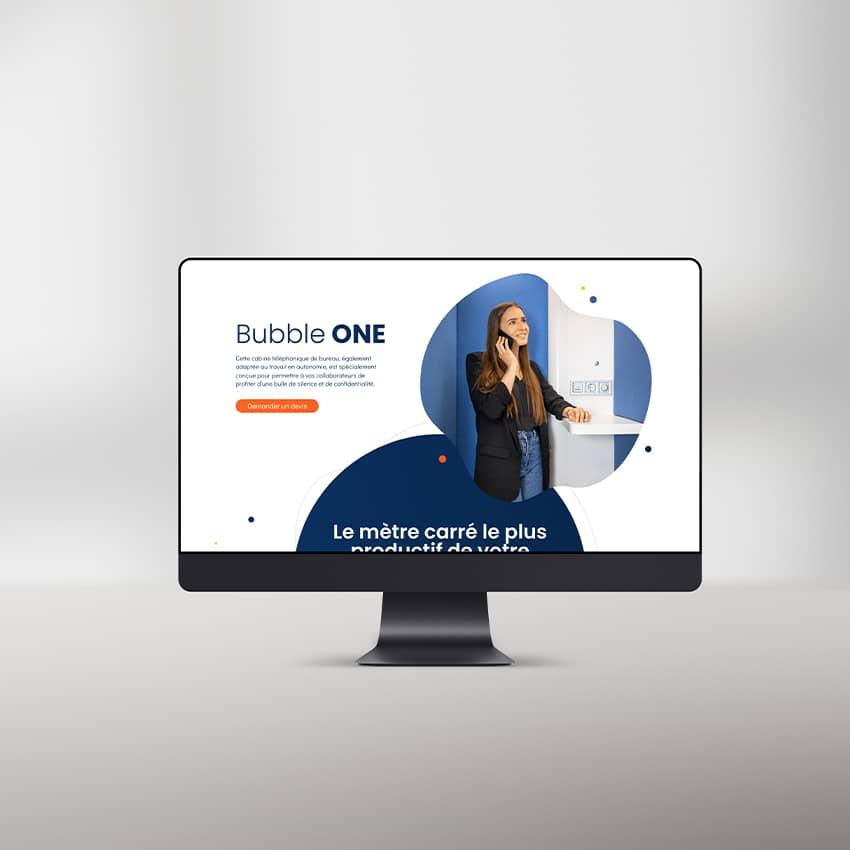 Bubble Work : design de sites internet à Chambéry
