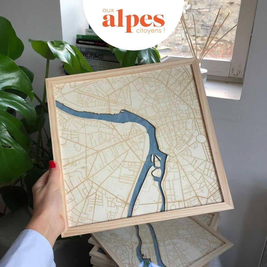 Mojo et filles présentées par Aux Alpes Citoyens