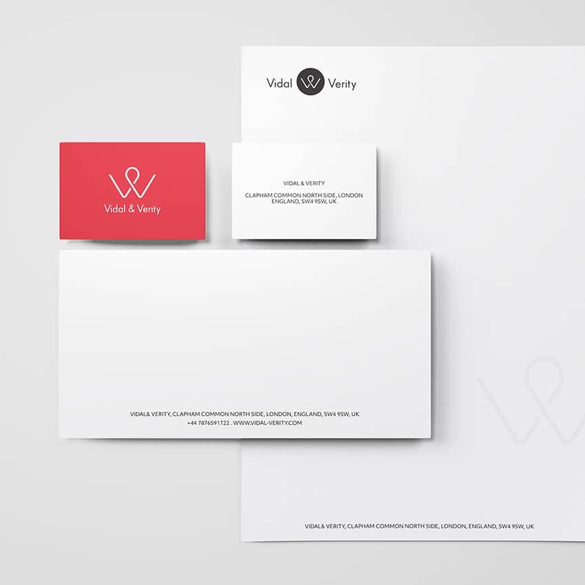 Vidal&Verity : création de mockup pour PowerPoint